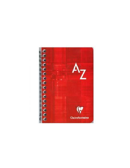 CUADERNO INDICE CLAIREFONTAINE 95 X 140 50 HOJAS