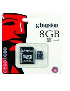 TARJETA DE MEMORIA 8GB MICRO SD KINGSTON