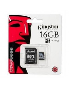 TARJETA DE MEMORIA MICRO SD 16 GB KINGSTON