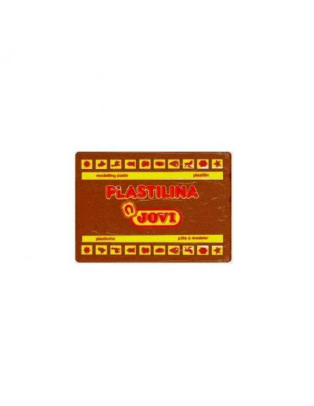 PLASTILINA 350 GR COLOR MARRON JOVI