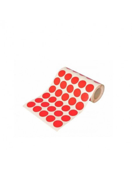 ROLLO CIRCULOS GRANDES COLOR ROJO