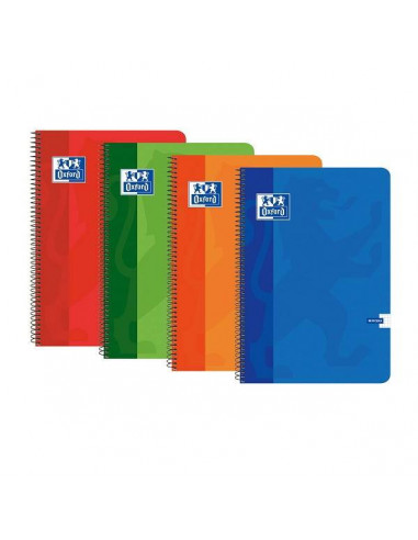 CUADERNO FOLIO OXFORD 4X4 90 GR TAPA NORMAL