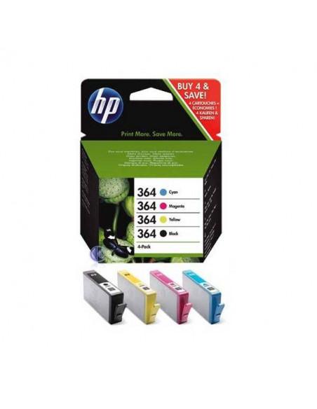 PACK HP CARTUCHO DE 4 COLORES NEGRO. MAGENTA. CYAN Y AMARILLO