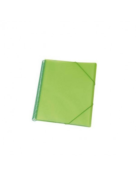 CARPETA 20 FUNDAS MAXIPLAS COLOR VERDE