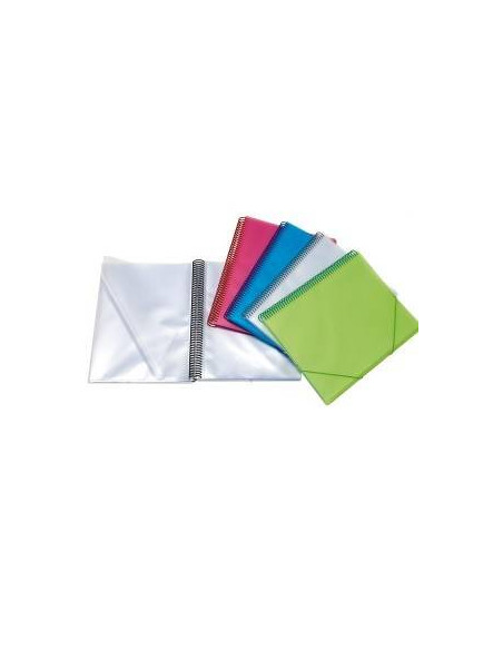 CARPETA CON FUNDAS MAXIPLAS COLOR VERDE