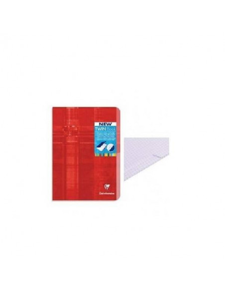 CUADERNO TWIN BOOK GRAPADO INDEX 170 X 220 MM