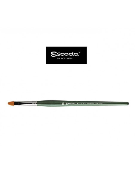 PINCEL ESCODA PLANO CARRADO BARROCO TORAY ORO M/C 1512 Nº2
