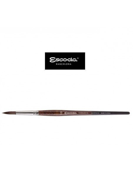 PINCEL RED. PUNTA VERSATIL M/C MARRON 1540 ESCODA Nº2/0