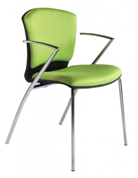 SILLA COLOR VERDE CONFIDENTE ROCADA