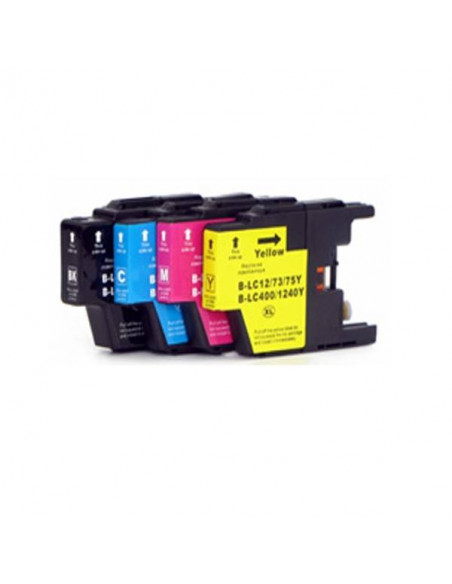 BROTHER LC1220/1240XL AMARILLO LC-1220 Y LC-1240 Y COMPATIBLE CARTUCHO XL 600 PAGINAS