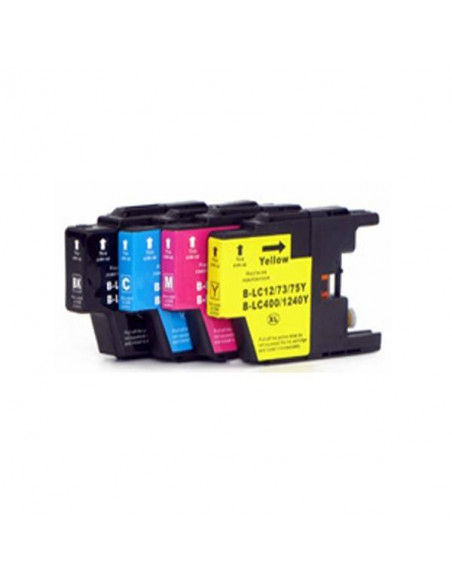 BROTHER LC1220/1240XL CIAN LC-1220 Y LC-1240 Y COMPATIBLE CARTUCHO XL 600 PAGINAS