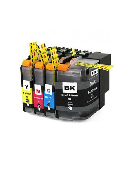 BROTHER LC229XLBK NEGRO LC229BK COMPATIBLE CARTUCHO 59.6ml