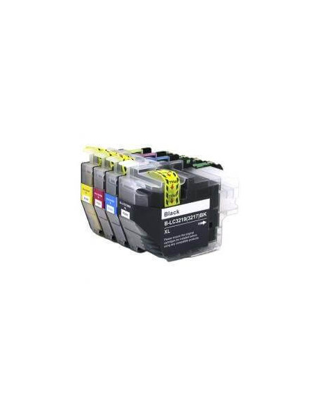 BROTHER LC3219XLBK XL NEGRO LC3219BK COMPATIBLE CARTUCHO 60ml