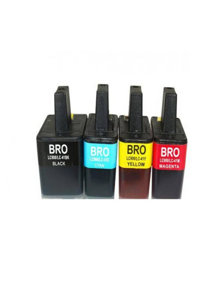 BROTHER LC900Y AMARILLO LC900Y COMPATIBLE CARTUCHO 12ml