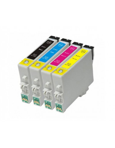 EPSON T0611 NEGRO T0611 COMPATIBLE CARTUCHO 17ml