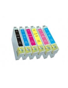 EPSON T0801 NEGRO T0801 COMPATIBLE CARTUCHO 13ml