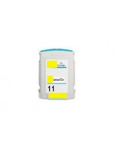 HP N11 AMARILLO C4838AE COMPATIBLE CARTUCHO 28ml