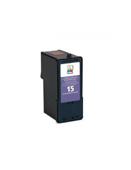 LEXMARK N15 LX15 COLOR 18C2110E REMANUFACTURADO CARTUCHO 15ml