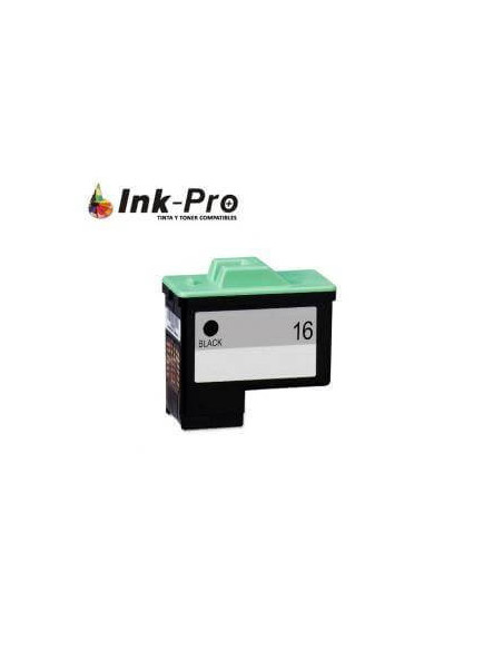 LEXMARK N16 NEGRO REMANUFACTURADO CARTUCHO 15ML