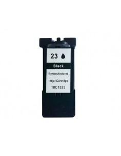 LEXMARK N23 LX23 NEGRO 18C1523E REMANUFACTURADO CARTUCHO 21ml