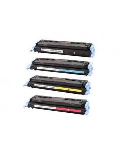 HP 124A NEGRO Q6000A COMPATIBLE TONER 2500PG