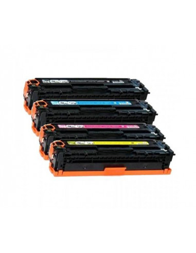 HP 128A NEGRO CE320A COMPATIBLE TONER 2.000 PAG PATENT FREE