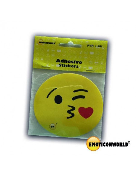 ADHESIVOS EMOTICONWORLD BESITO