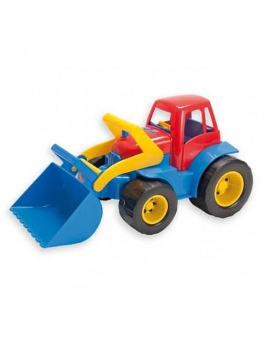 Pala Andreu Juguete Plástico De Realizado Eco Toys Tractor En Excavadora Marca Con Movil La 7y6fYbg