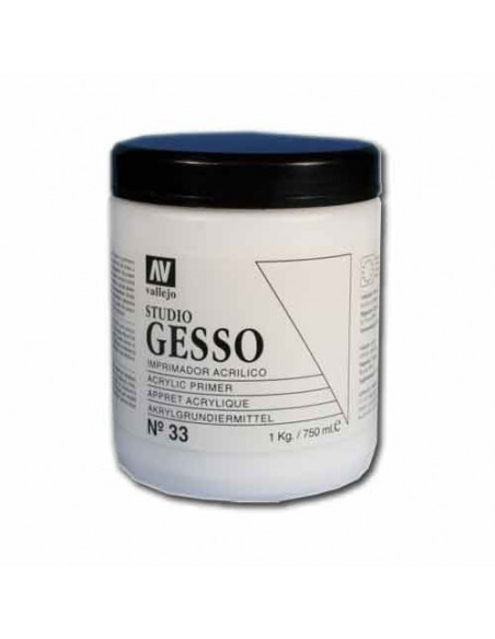 GESSO BLANCO 750 ML VALLEJO