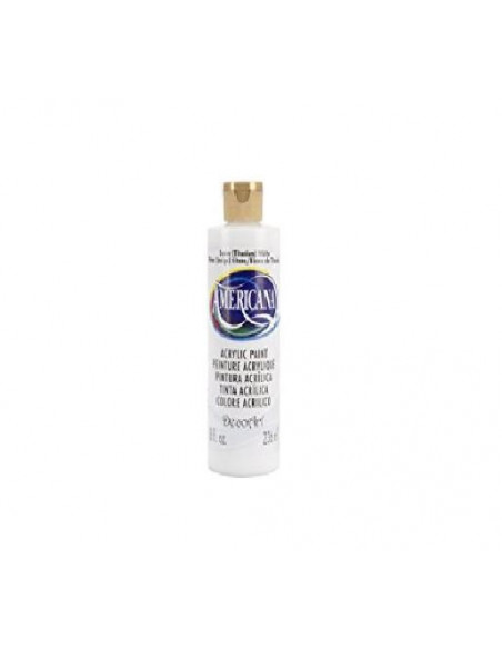 PINTURA AMERICANA 236ML COLOR BLANCO NIEVE Nº 1