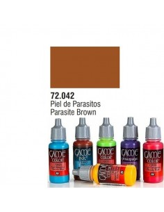PINTURA ACRILICA DE COLOR PIEL DE PARASITO EN BOTE DE 17 ML PINTURA MODELO GAME COLOR