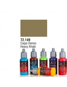 PINTURA ACRILICA DE COLOR CAQUI DENSO EN BOTE DE 17 ML MODELO GAME COLOR DE VALLEJO