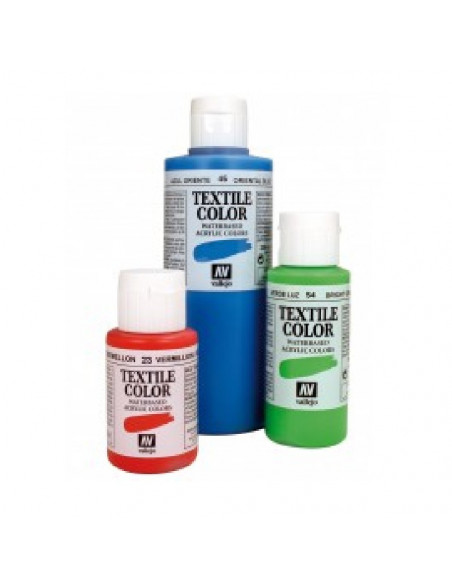 PINTURA DE COLOR FOSFORESCENTE MODELO TEXTIL COLOR BOTE DE 60 ML DE LA MARCA VALLEJO