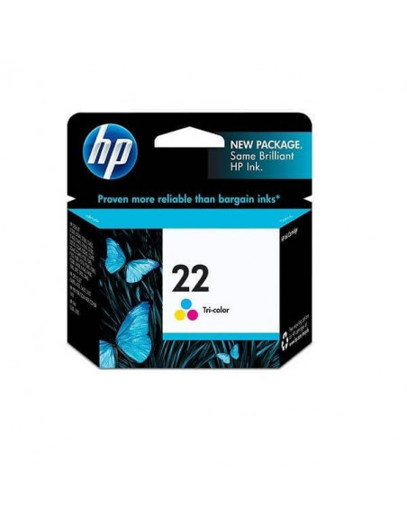 CARTUCHO HP 22 TRICOLOR 5 ML