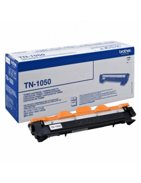 BROTHER TN-1050 COLOR NEGRO TONER ORIGINAL 1000 PÁGINAS