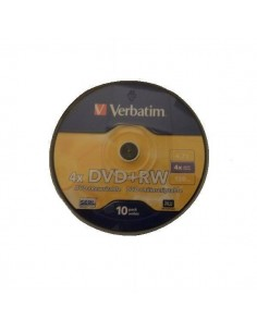 TARRINA 10 UND DVD REGRABABLE VERBATIM 4