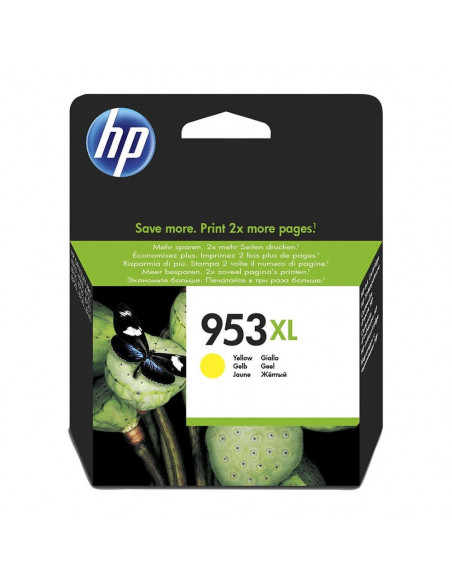 HP 953 XL AMARILLO CARTUCHO INK-JET ORIGINALES 1600 PÁGINAS