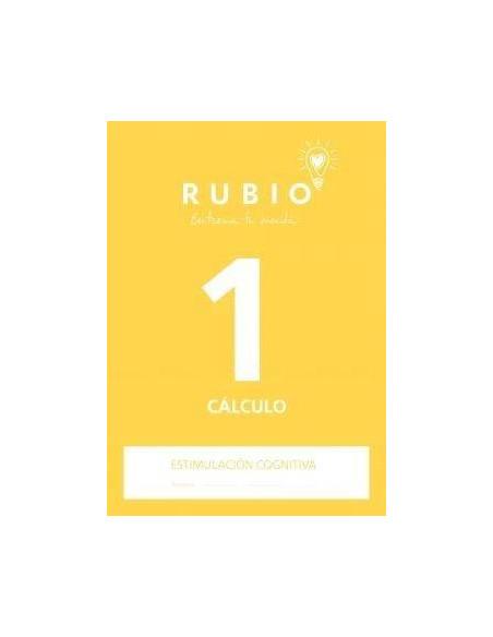 CUADERNO DE ESTIMULACION COGNITIVA CALCULO 1 RUBIO