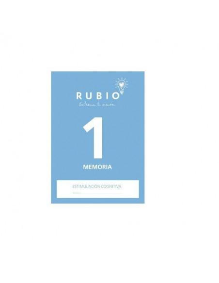 CUADERNO DE ESTIMULACION COGNITIVA MEMORIA 1 RUBIO