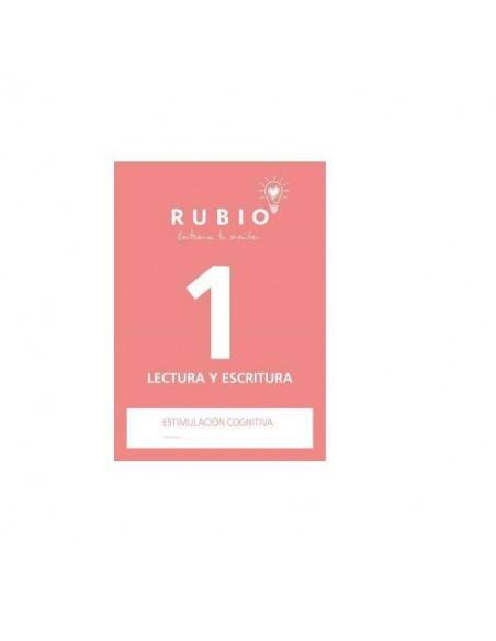 CUADERNO DE ESTIMULACION COGNITIVA LECTOESCRITURA 1 RUBIO
