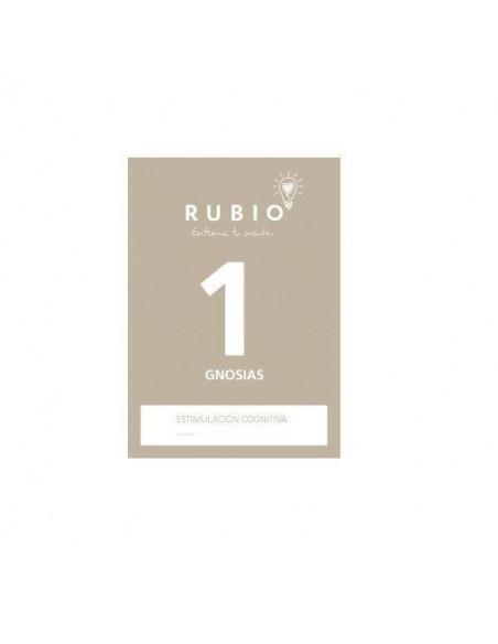 CUADERNO DE ESTIMULACION COGNITIVA GNOSIAS 1 RUBIO