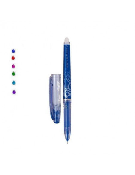 BOLIGRAFO PILOT FRIXION POINT COLOR AZUL CLARO