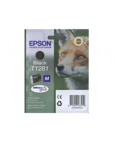 CARTUCHO ORIGINAL EPSON T1281 NEGRO