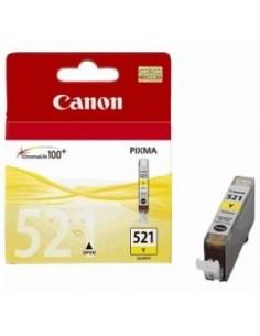 CARTUCHO ORIGINAL CANON 521 AMARILLO CLI521Y