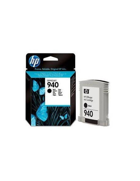 CARTUCHO ORIGINAL HP 940XL NEGRO C4906AE