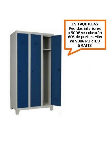 TAQUILLA - ARMARIO MONOBLOCK DE 300MM. DE 3 PUERTAS
