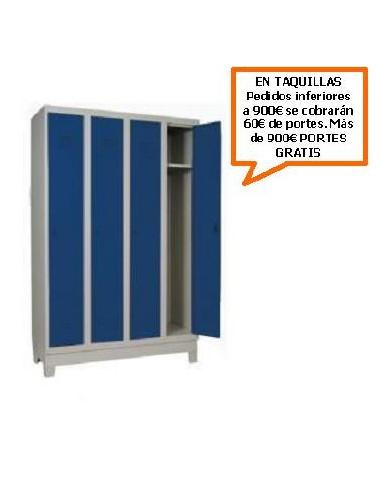 TAQUILLA - ARMARIO MONOBLOCK DE 300MM. DE 4 PUERTAS