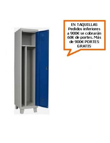 TAQUILLA - ARMARIO MONOBLOCK DE 400MM. DE 1 PUERTA CON SEPARADOR INTERIOR