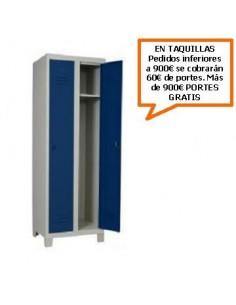 TAQUILLA - ARMARIO MONOBLOCK DE 400MM. DE 2 PUERTAS