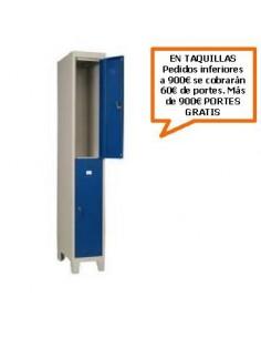TAQUILLA - ARMARIO DOBLE MONOBLOCK 300MM. DE ANCHO